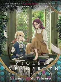 Violet Evergarden: Eternity and Automemory Doll