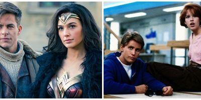 'Wonder Woman 1984': Elenco recrea póster de 'El club de los cinco'