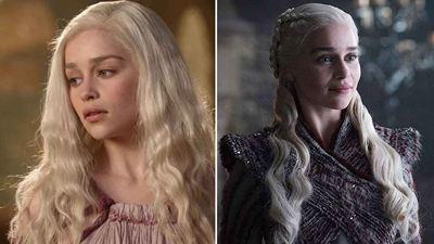 'Game of Thrones': El antes y después de 20 personajes