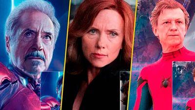 Así lucen algunos superhéroes de Marvel y DC de viejitos