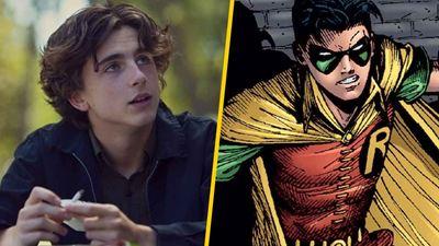 'The Batman': Timothée Chalamet quiere ser Robin