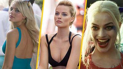 Margot Robbie: Sus momentos más sexy en el cine