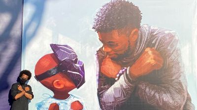 Disney estrena sorprenderte mural como homenaje a Chadwick Boseman