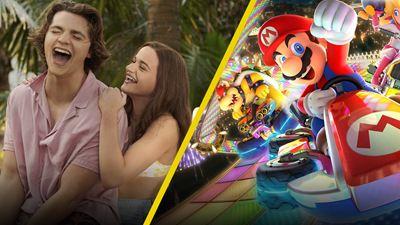 'El stand de los besos 3': Así se filmó la carrera de Mario Kart con Jacob Elordi y Joey King