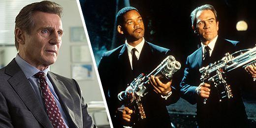 Liam Neeson está cerca de cazar alienígenas en el spin-off de 'Hombres de negro'