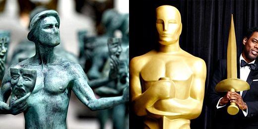 SAG Awards denuncia presiones a presentadores de los Oscar