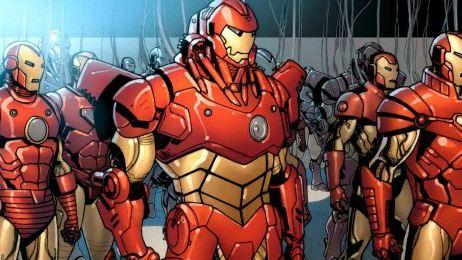 'Iron Man': Descubre sus armaduras más sorprendentes