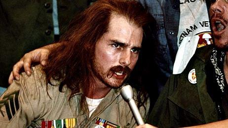 'Nacido el 4 de julio': el primer papel serio de Tom Cruise