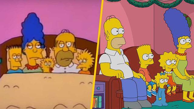 'Los Simpson': 12 imágenes que demuestran su evolución en 30 años