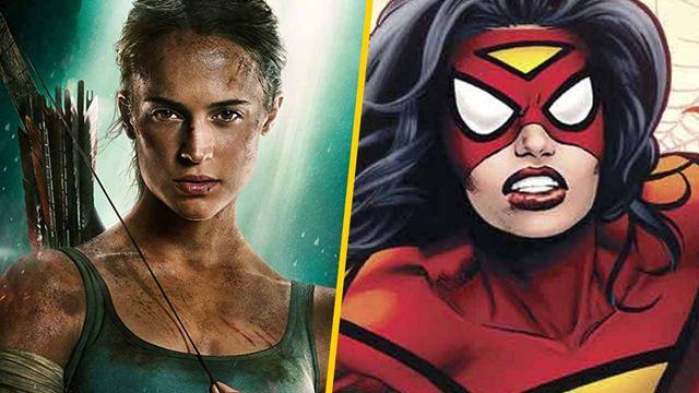 Alicia Vikander podría interpretar a Spider-Woman en su propia película