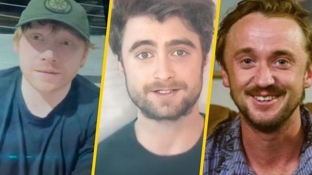 'Harry Potter': Daniel Radcliffe y el elenco original se reúnen para festejar la saga y así se vivió