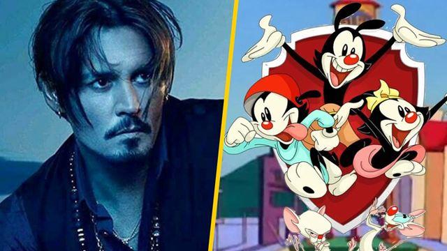 'Animaniacs' se burla de Johnny Depp y los seguidores del actor enfurecen