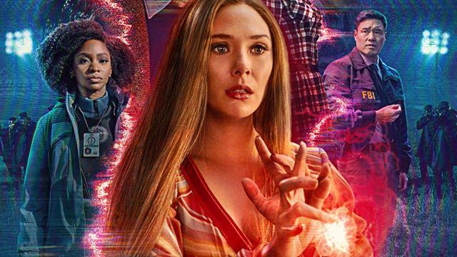 'WandaVision' (Disney+): Mephisto aparece en el póster y no lo habías notado