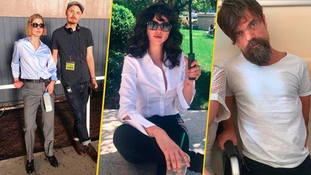 'Descuida, yo te cuido': 15 fotos detrás de cámaras con Eiza González y compañía en la película de Netflix