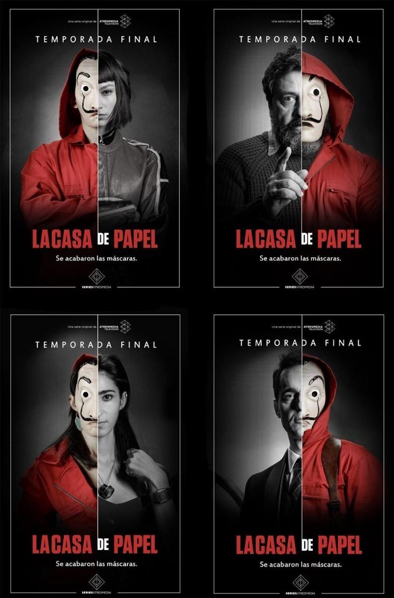 Casa de papel 2 temporada