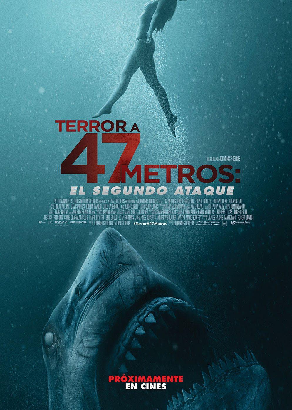 Terror a 47 metros: El segundo ataque - SensaCine.com.mx