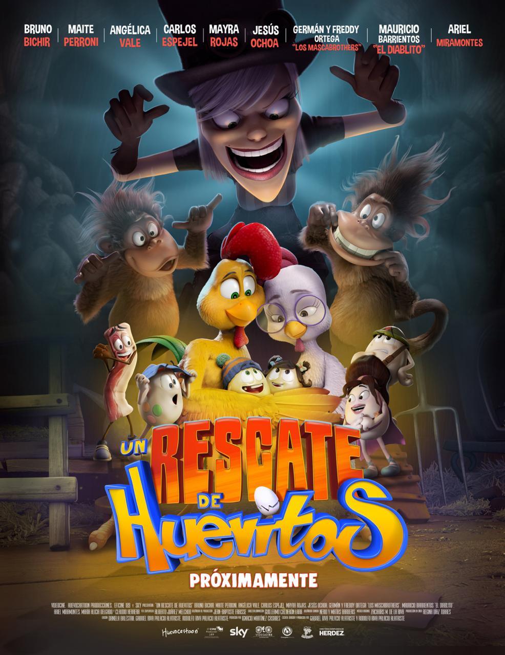 Un rescate de huevitos - SensaCine.com.mx