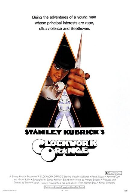 'La naranja mecánica' (1971)