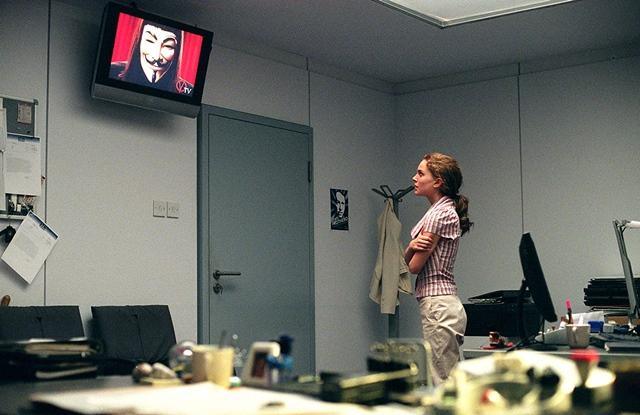 'V de venganza' (2005)