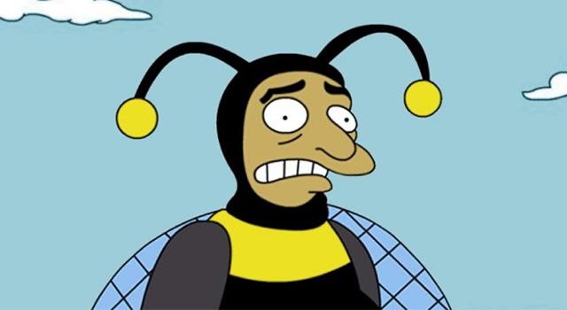 Hombre abejorro