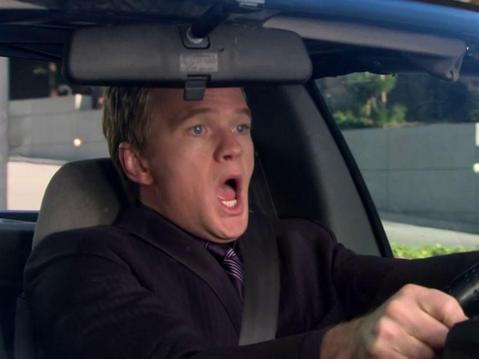 Barney no sabe manejar