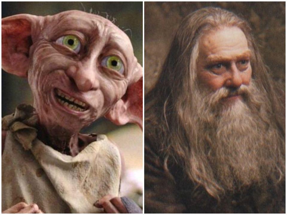 Aberforth y Dobby