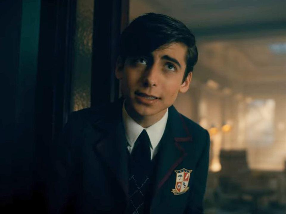 Aidan Gallagher es Cinco en 'The Umbrella Academy' - Temporada 2