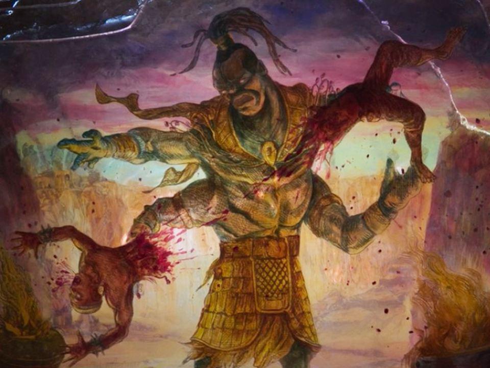 Goro venciendo al Gran Kung Lao
