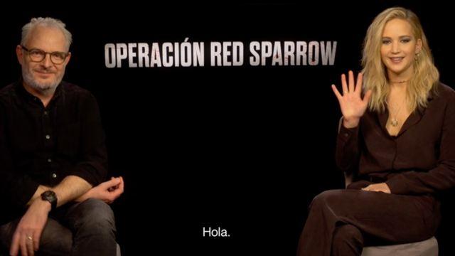 Francis Lawrence y Jennifer Lawrence definen 'Operación Red Sparrow'