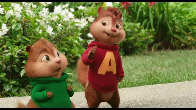 Alvin y las ardillas: Aventura sobre ruedas (Trailer doblado)